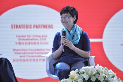 Yanmei Zhu, Executive Vice President of BGI at China Globalization Forum