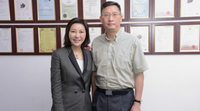 Shunee Yee with Lu Xianping